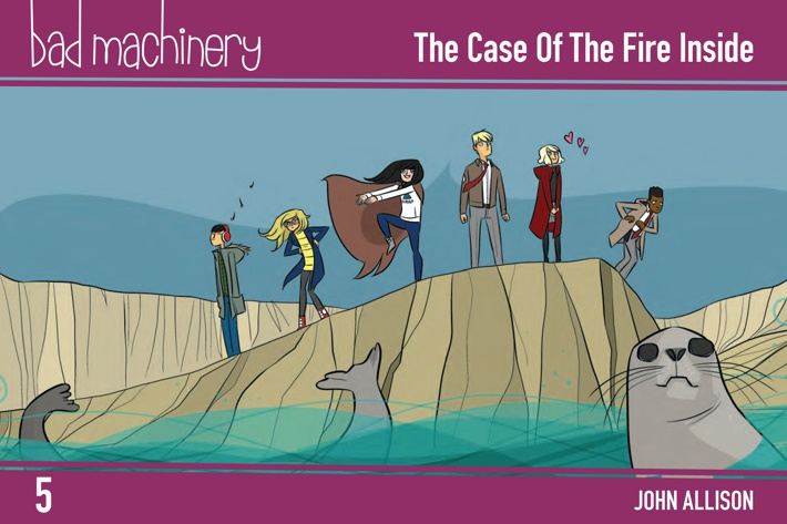Pages-from-BMACHV5-PE-MARKETING-2-1 ComicList Previews: BAD MACHINERY POCKET EDITION VOLUME 5 THE CASE OF THE FIRE INSIDE GN