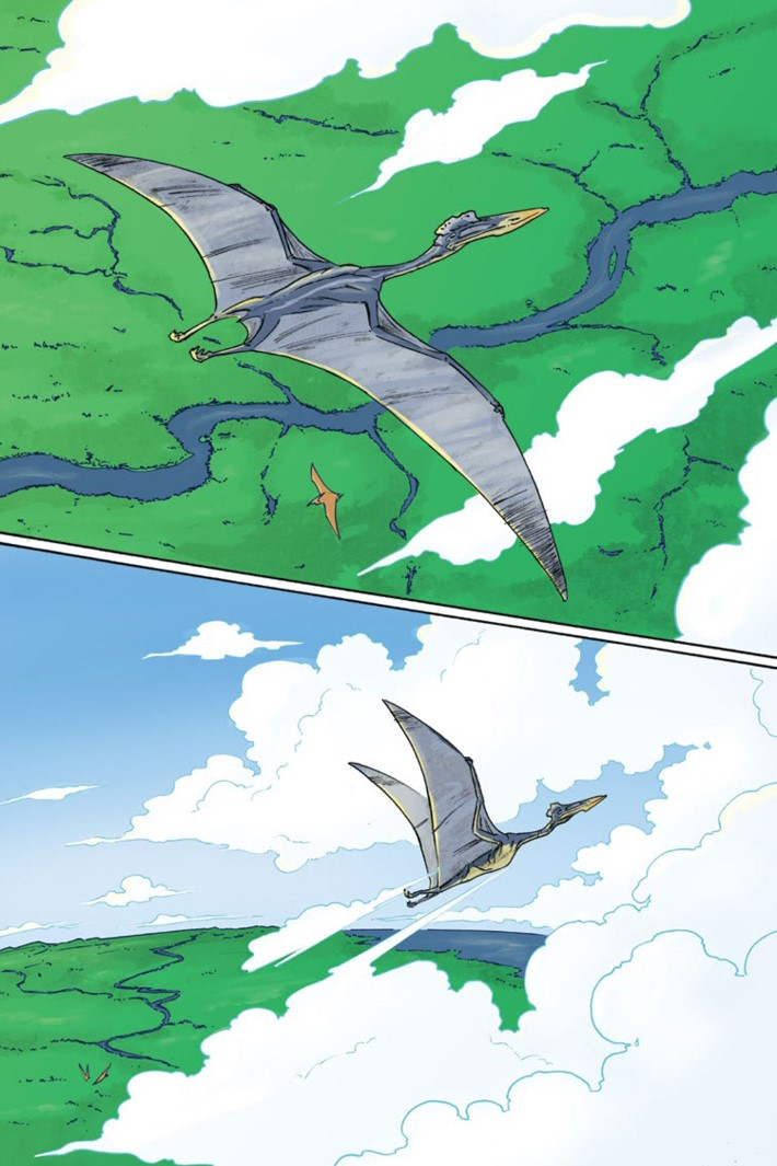 Pages-from-CRETACEOUS-V1-REFERENCE-3 ComicList Previews: CRETACEOUS GN