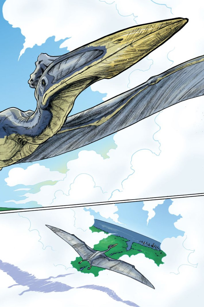 Pages-from-CRETACEOUS-V1-REFERENCE-4 ComicList Previews: CRETACEOUS GN