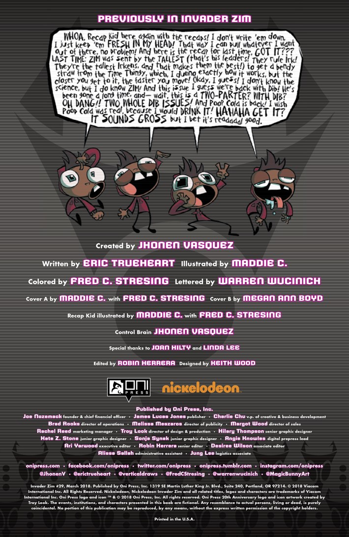 Pages-from-INVADERZIM-29-MARKETING-3 ComicList Previews: INVADER ZIM #29