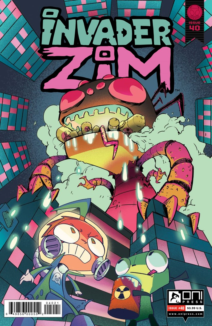 Pages-from-INVADERZIM-40-REFERENCE-2 ComicList Previews: INVADER ZIM #40