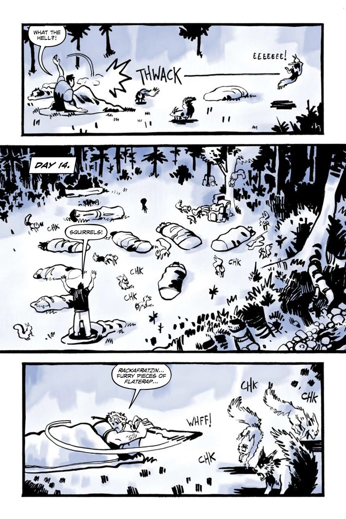 Pages-from-JRBRAVESV2-MARKETING-2 ComicList Previews: JUNIOR BRAVES OF THE APOCALYPSE VOLUME 2 OUT OF THE WOODS GN