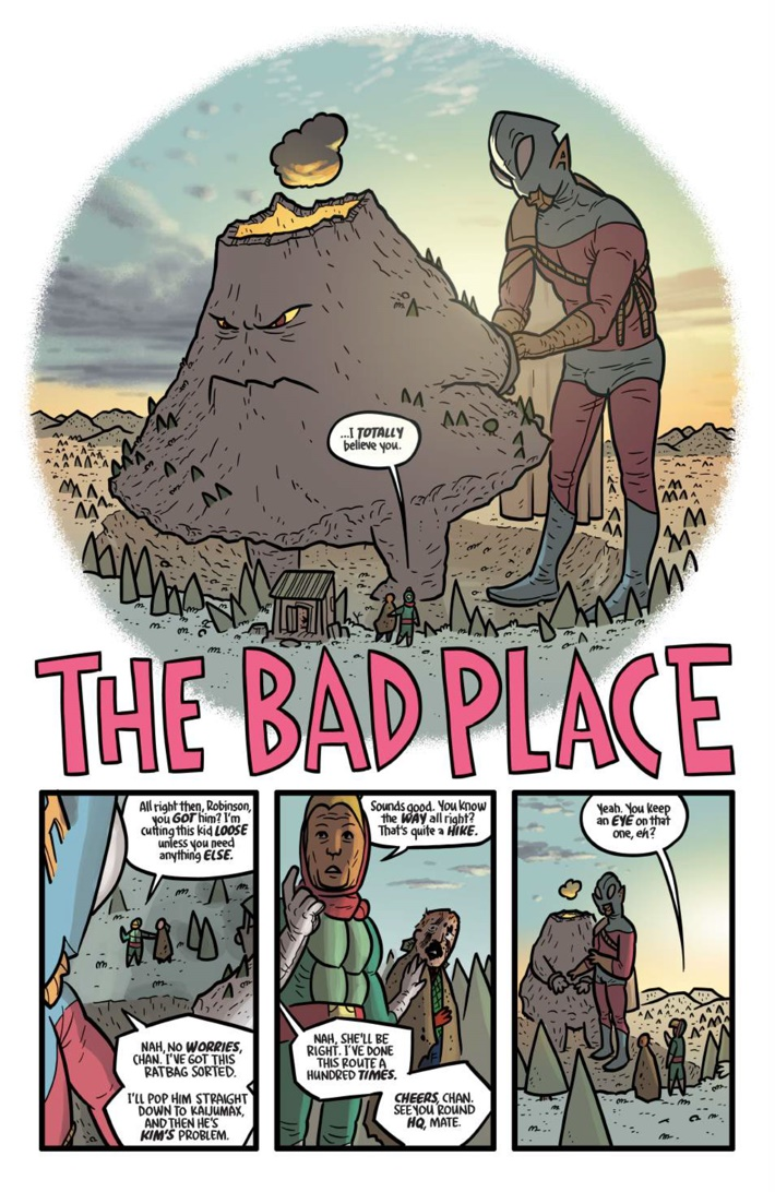 Pages-from-KAIJUMAXV3-TPB-MARKETING-2-5 ComicList Previews: KAIJUMAX VOLUME 3 SEASON THREE KING OF THE MONSTAS TP