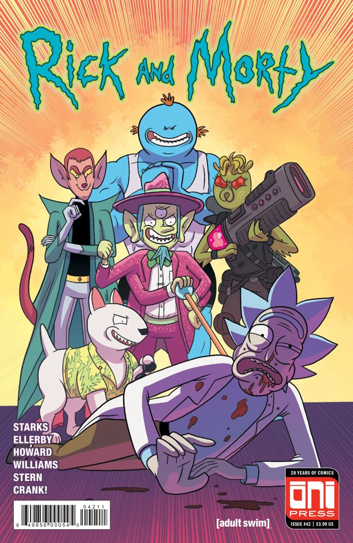 ComicList Previews RICK AND MORTY 42