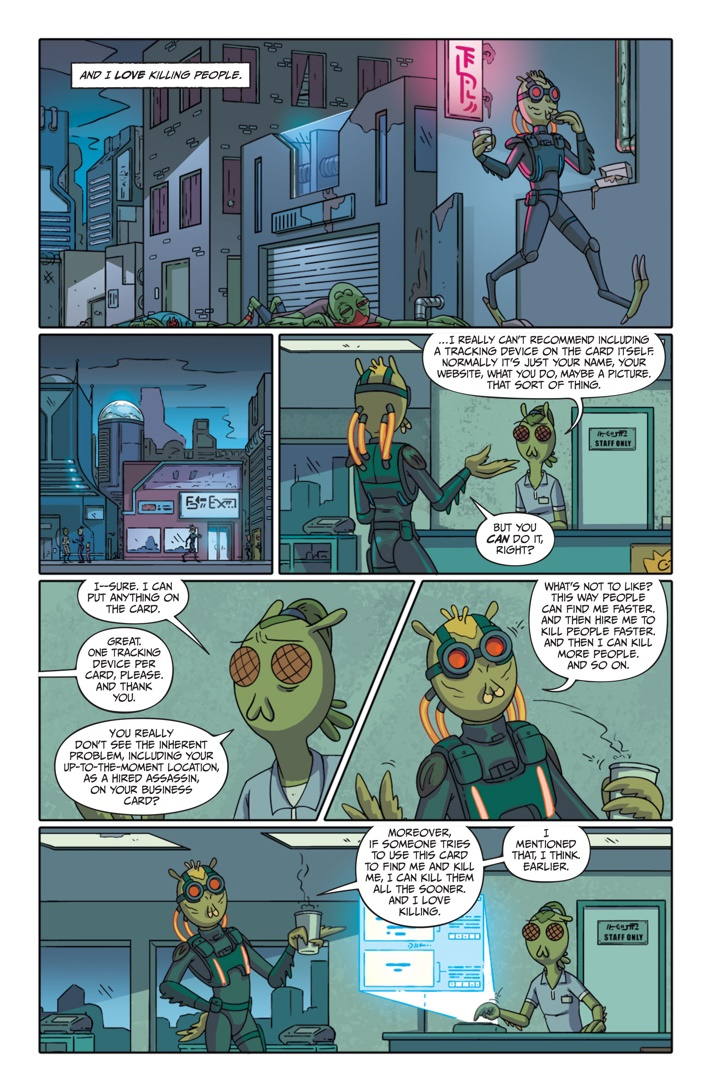 Pages-from-RICKMORTY-PRESENTS-KROMBOPULOS-1-3 ComicList Previews: RICK AND MORTY PRESENTS KROMBOPULOUS MICHAEL #1