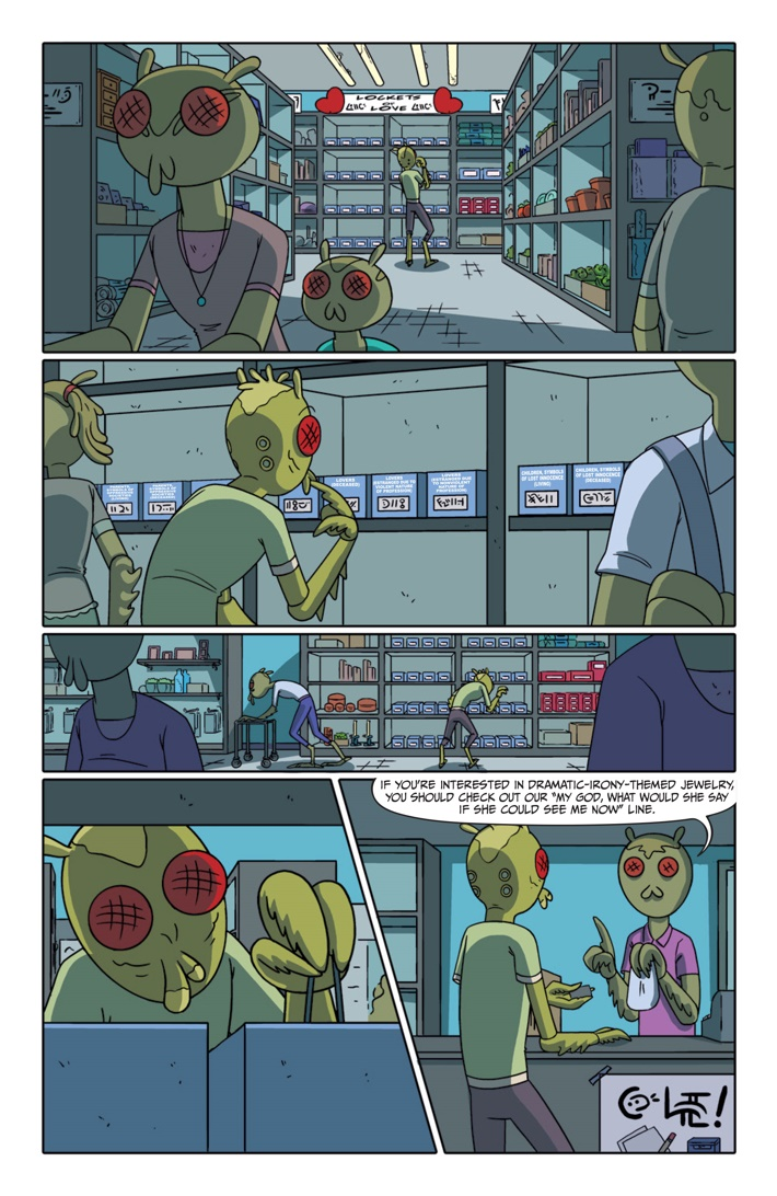 Pages-from-RICKMORTY-PRESENTS-KROMBOPULOS-1-6 ComicList Previews: RICK AND MORTY PRESENTS KROMBOPULOUS MICHAEL #1