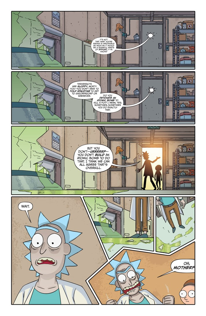 Pages-from-RICKMORTY-PRESENTS-SLEEPY-GARY-1-6 ComicList Previews: RICK AND MORTY PRESENTS SLEEPY GARY #1