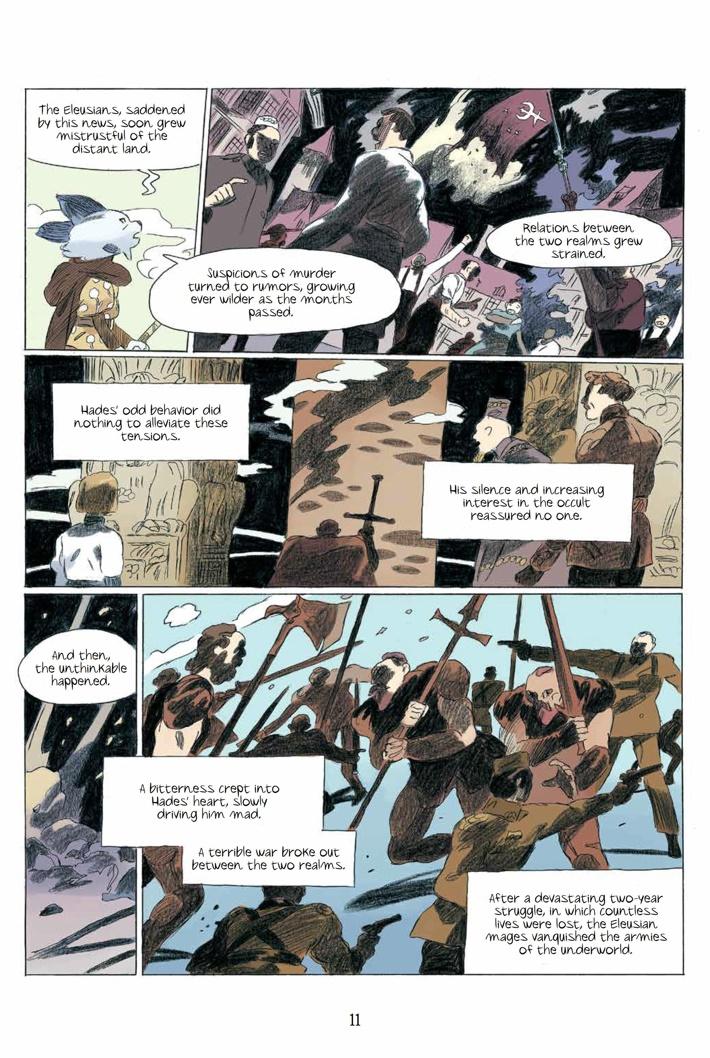 Persephone_HC_PRESS_15 ComicList Previews: PERSEPHONE HC