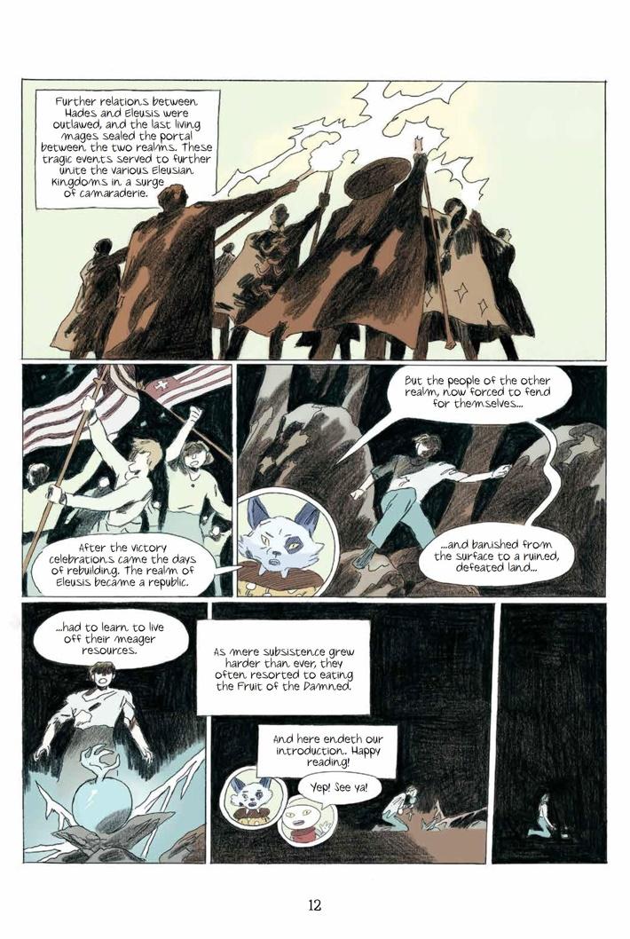 Persephone_HC_PRESS_16 ComicList Previews: PERSEPHONE HC