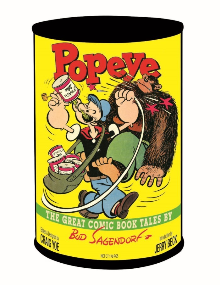 Popeye_GreatComicTales-pr-1 ComicList Previews: POPEYE THE GREAT COMIC BOOK TALES BY BUD SAGENDORF TP