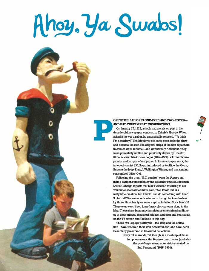 Popeye_GreatComicTales-pr-3 ComicList Previews: POPEYE THE GREAT COMIC BOOK TALES BY BUD SAGENDORF TP