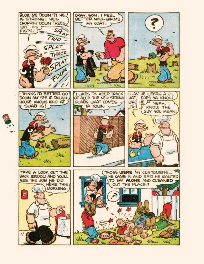 Popeye_GreatComicTales-pr-6 ComicList Previews: POPEYE THE GREAT COMIC BOOK TALES BY BUD SAGENDORF TP