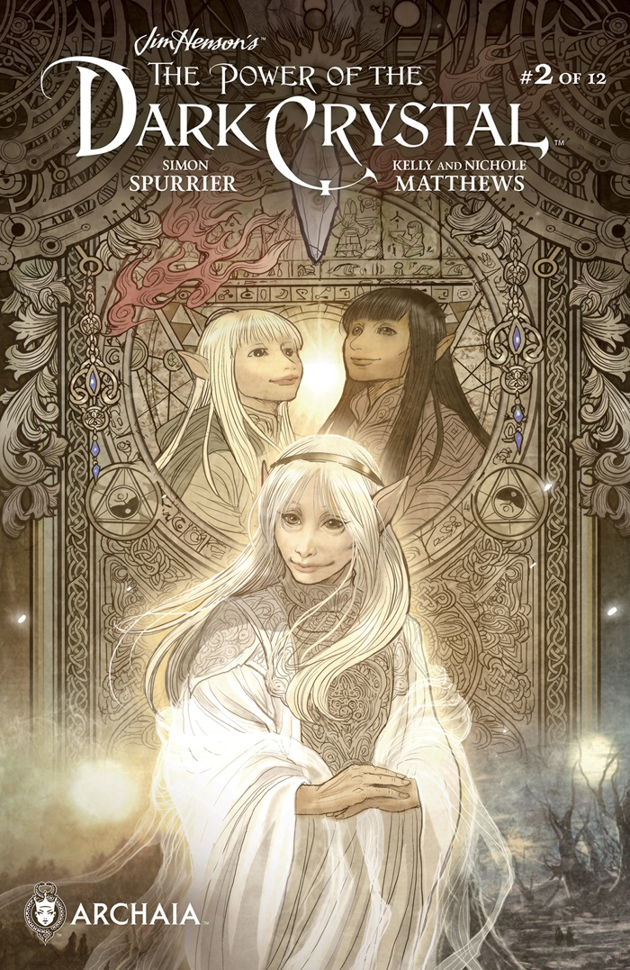 PowerDarkCrystal_002_COVER_B_Subscription_PRESS ComicList Preview: JIM HENSON'S THE POWER OF THE DARK CRYSTAL #2