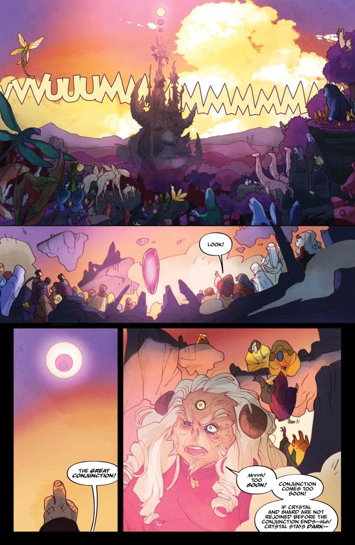 PowerDarkCrystal_012_PRESS_7 ComicList Previews: JIM HENSON'S THE POWER OF THE DARK CRYSTAL #12