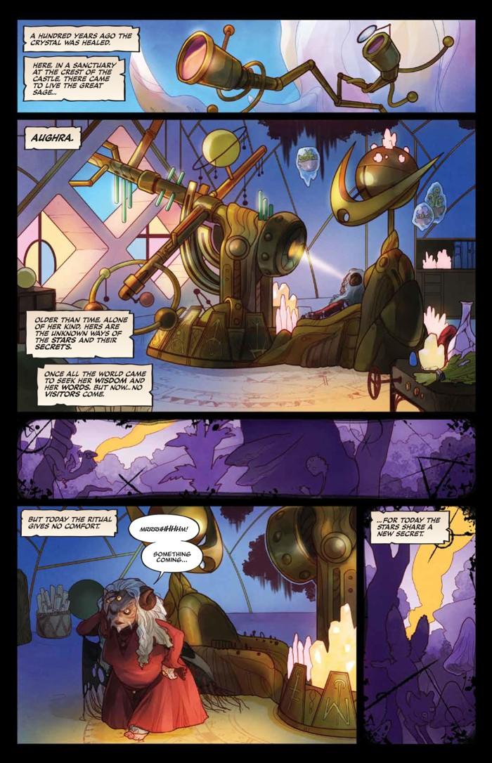 PowerDarkCrystal_v1_HC_PRESS_15 ComicList Previews: JIM HENSON'S THE POWER OF THE DARK CRYSTAL VOLUME 1 HC