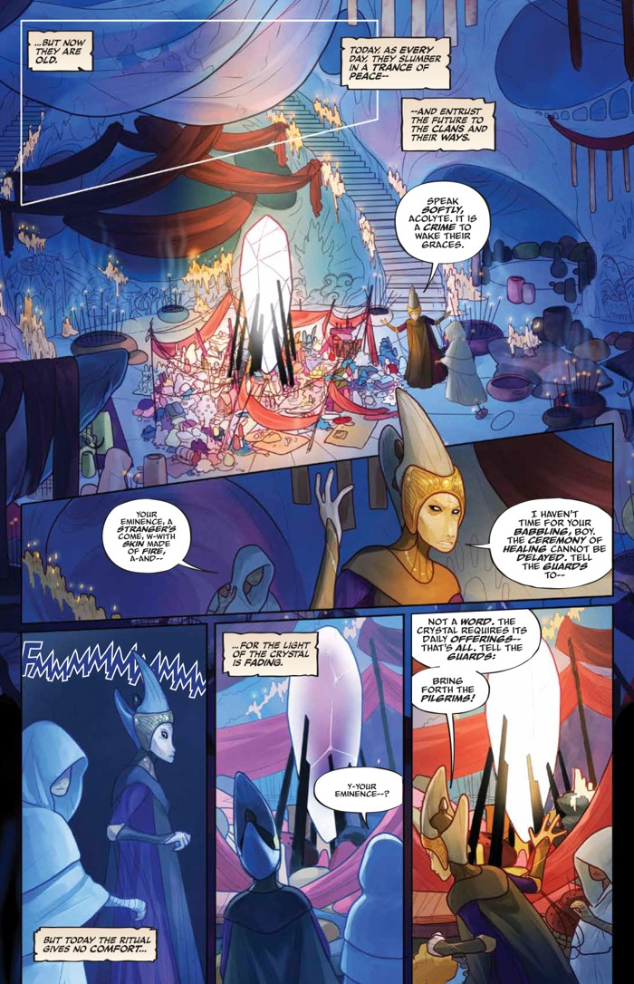PowerDarkCrystal_v1_HC_PRESS_17 ComicList Previews: JIM HENSON'S THE POWER OF THE DARK CRYSTAL VOLUME 1 HC
