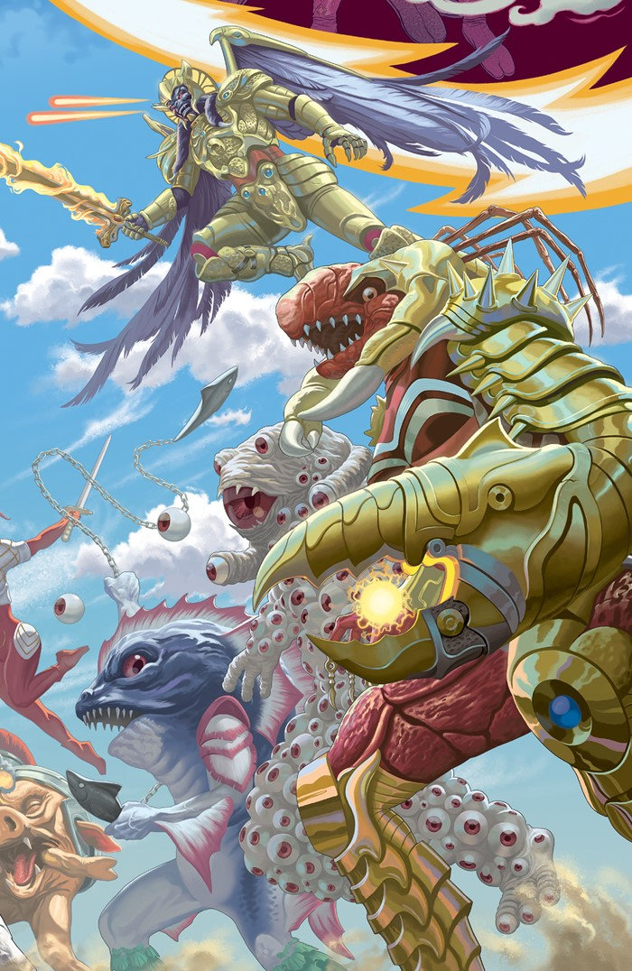 PowerRangers_024_B_Connecting ComicList Previews: MIGHTY MORPHIN POWER RANGERS #24