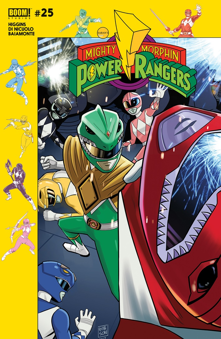 PowerRangers_025_H_Subscription ComicList Previews: MIGHTY MORPHIN POWER RANGERS #25