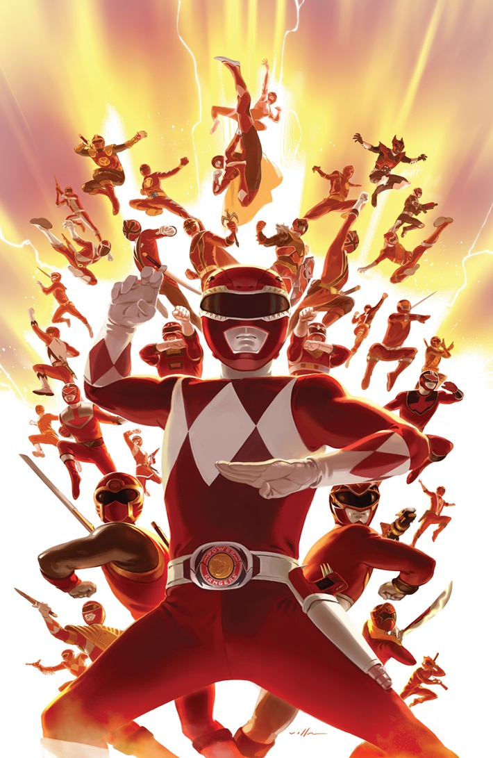 PowerRangers_026_C_Variant ComicList Previews: MIGHTY MORPHIN POWER RANGERS #26