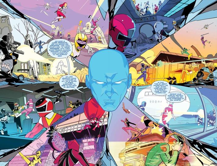 PowerRangers_027_PRESS_6-7 ComicList Previews: MIGHTY MORPHIN POWER RANGERS #27