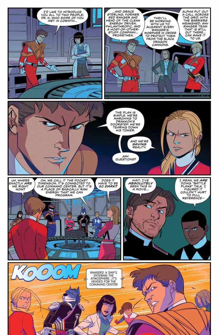PowerRangers_029_PRESS_5 ComicList Previews: MIGHTY MORPHIN POWER RANGERS #29
