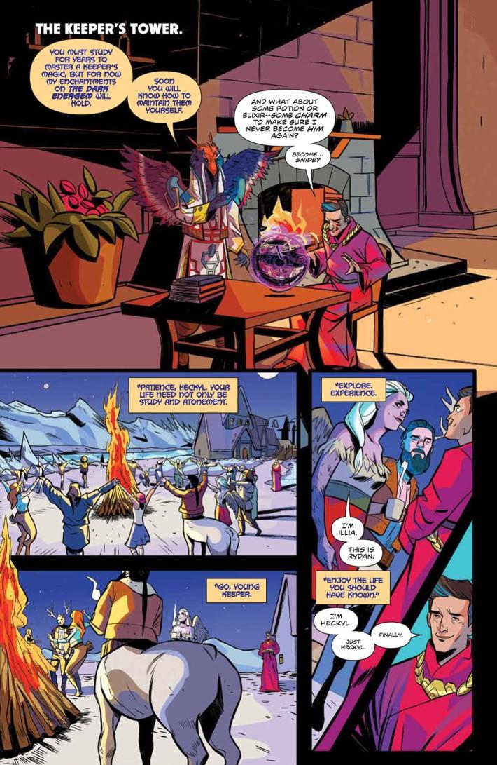 PowerRangers_035_PRESS_5 ComicList Previews: MIGHTY MORPHIN POWER RANGERS #35