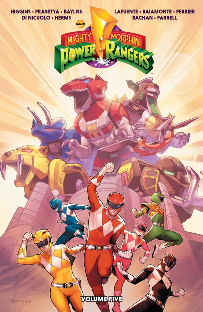 PowerRangers_v5_SC_PRESS_1 ComicList Previews: MIGHTY MORPHIN POWER RANGERS VOLUME 5 TP