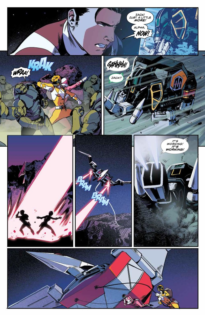 PowerRangers_v5_SC_PRESS_15 ComicList Previews: MIGHTY MORPHIN POWER RANGERS VOLUME 5 TP