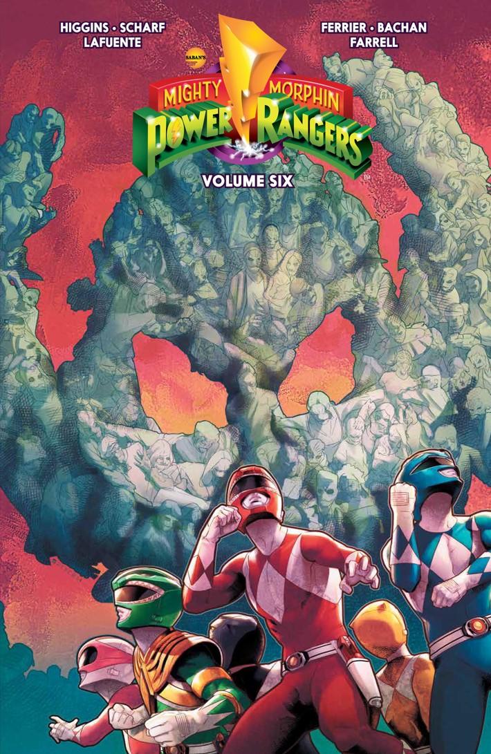PowerRangers_v6_SC_PRESS_1 ComicList Previews: MIGHTY MORPHIN POWER RANGERS VOLUME 6 TP