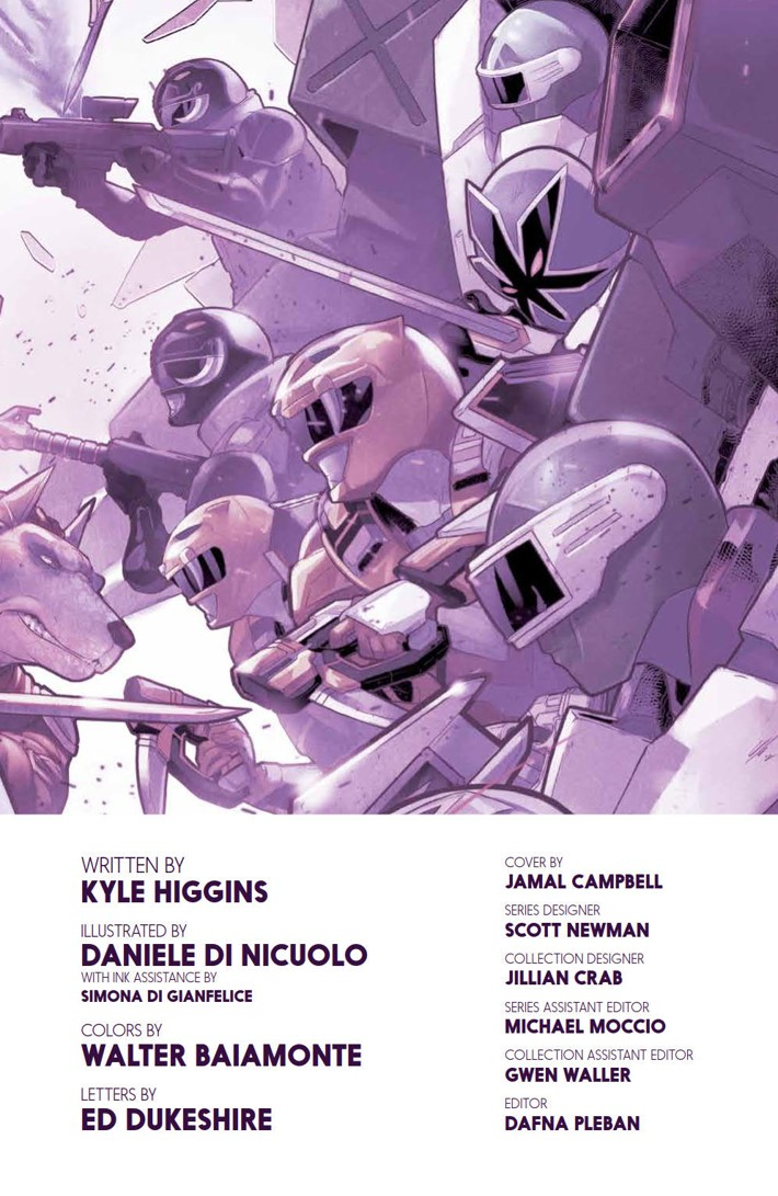 PowerRangers_v7_SC_PRESS_5 ComicList Previews: MIGHTY MORPHIN POWER RANGERS VOLUME 7 TP
