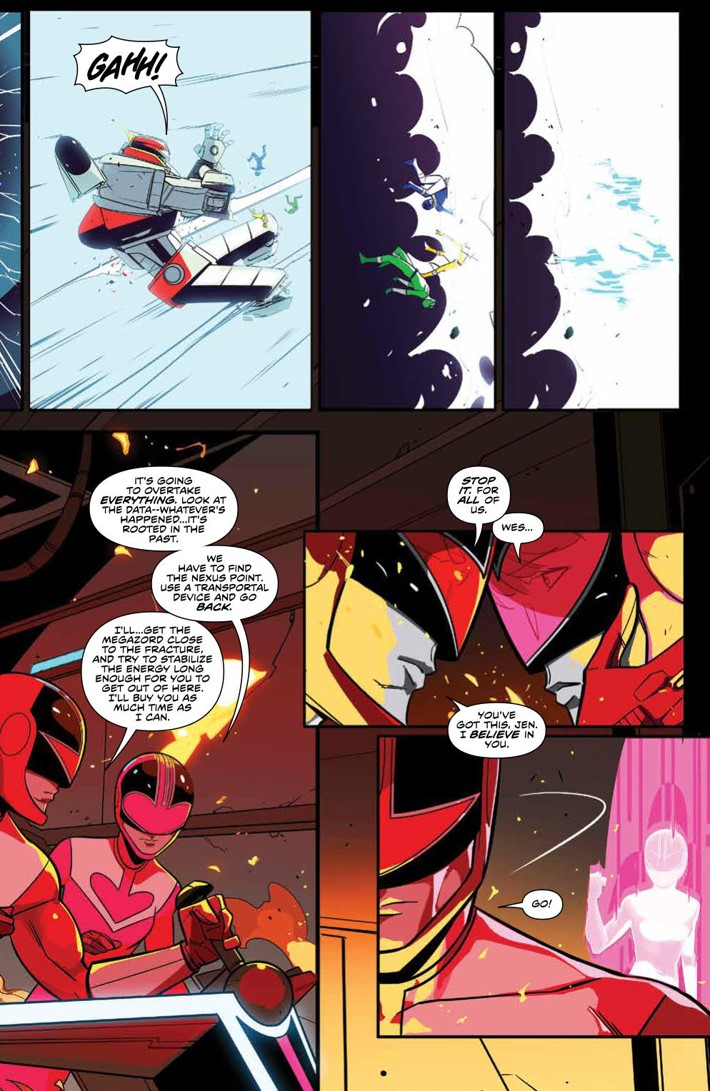 PowerRangers_v7_SC_PRESS_9 ComicList Previews: MIGHTY MORPHIN POWER RANGERS VOLUME 7 TP