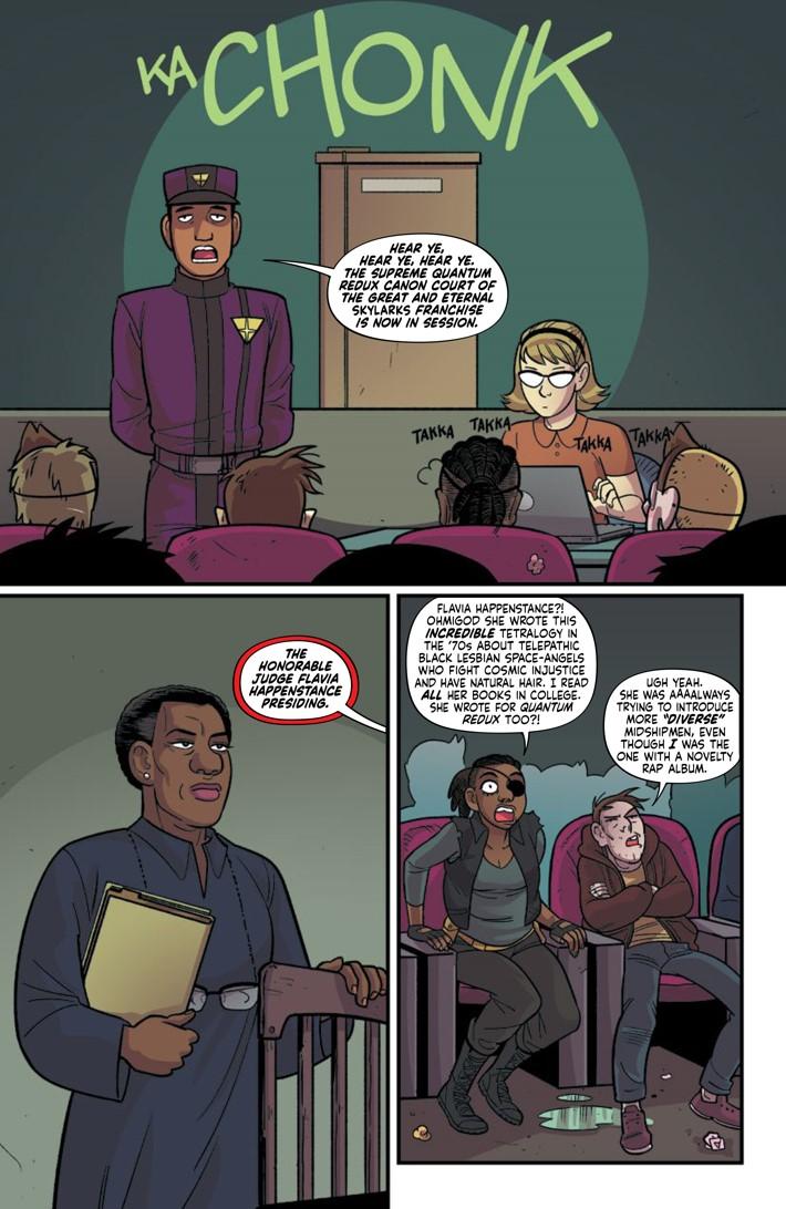 Preview-LONGCON-8-5 ComicList Previews: THE LONG CON #8