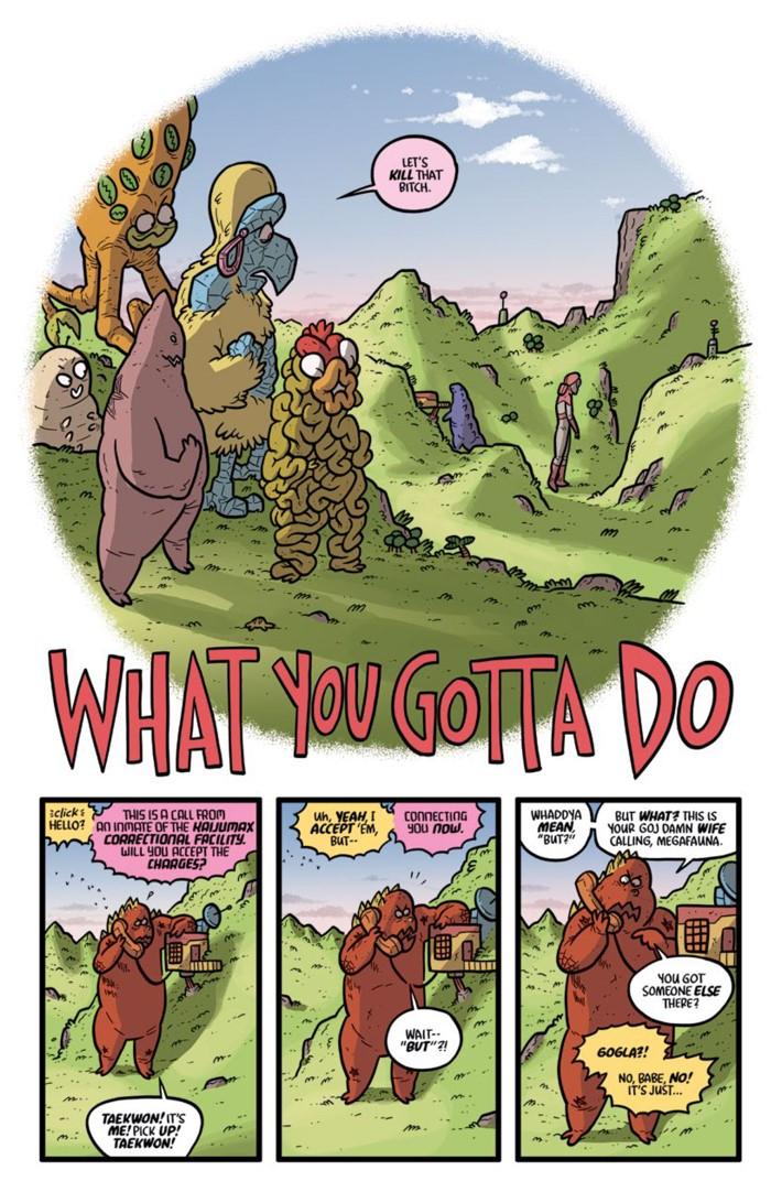Preview-Pages-KAIJUMAXV4-4-5 ComicList Previews: KAIJUMAX SEASON FOUR #4