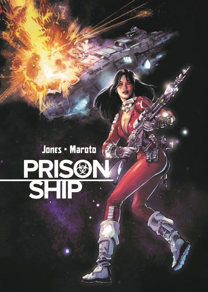 PrisonShip-pr-1 ComicList Previews: PRISON SHIP HC