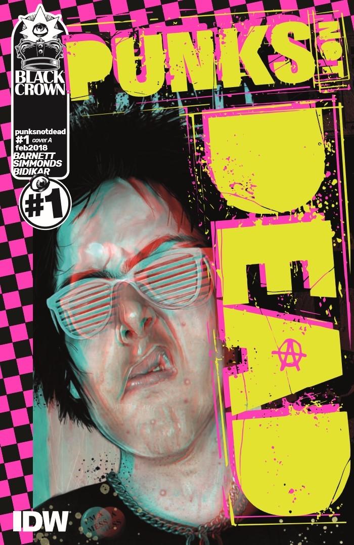 PunksNotDead_01-pr-1 ComicList Previews: PUNKS NOT DEAD #1