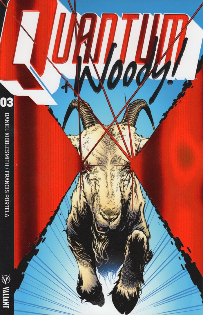 QW2017_003_COVER-B-(ULTRA-FOIL)_SHAW ComicList Previews: QUANTUM AND WOODY #3