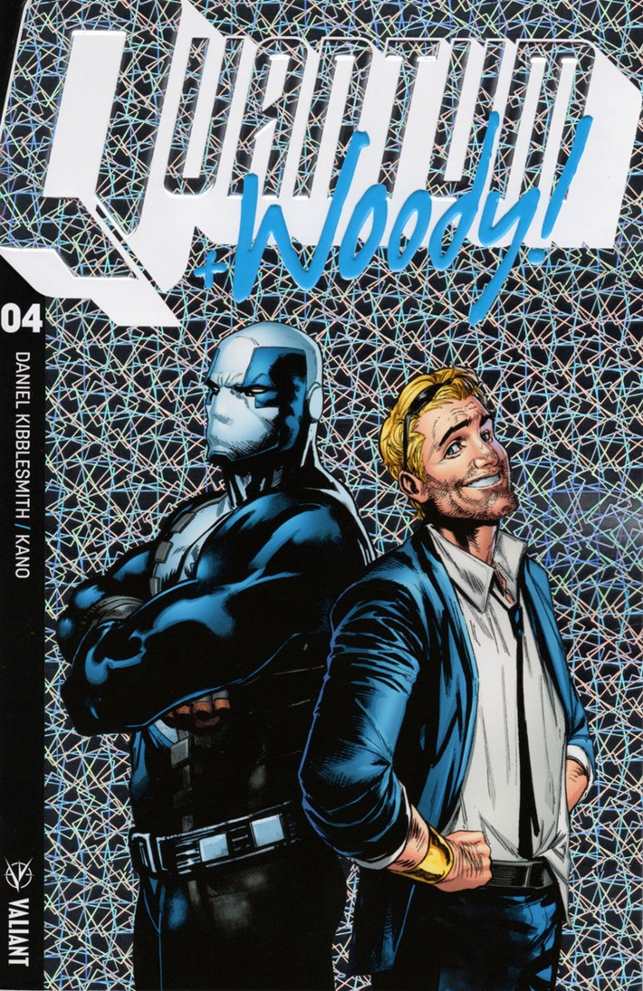 QW2017_004_COVER-B-(ULTRA-FOIL)_SHAW ComicList Previews: QUANTUM AND WOODY! (2017) #4
