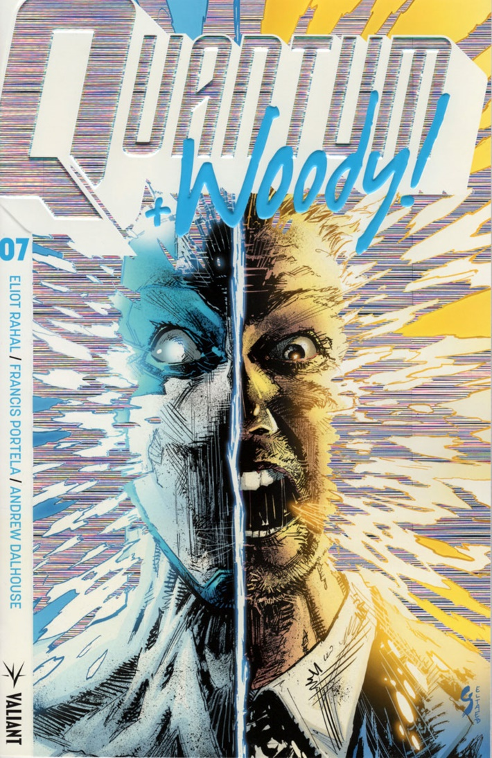 QW2017_007_COVER-B_(EXTREME-ULTRA-FOIL)_SHAW ComicList Previews: QUANTUM AND WOODY! (2017) #7