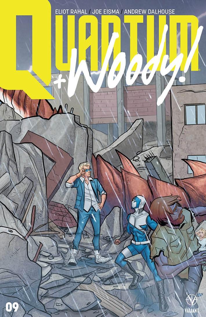 QW2017_009_VARIANT-INTERLOCKING_EISMA ComicList Previews: QUANTUM AND WOODY! (2017) #9