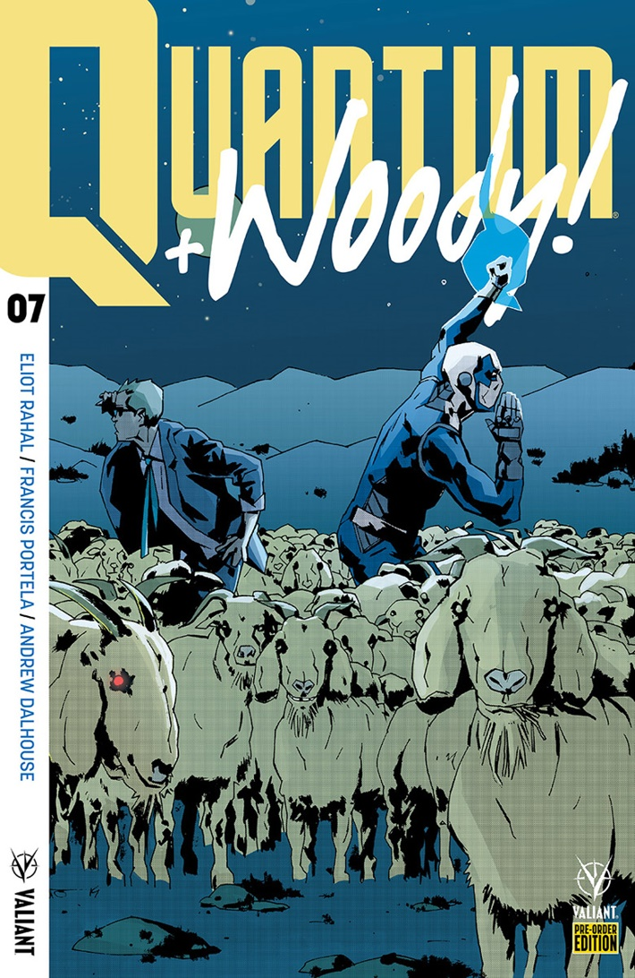 QW2017_07_PRE-ORDER_FUSO ComicList Previews: QUANTUM AND WOODY! (2017) #7
