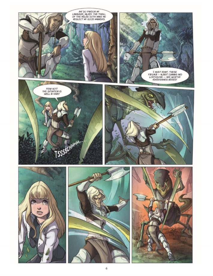 Quest_Of_Ewilan-pr-7 ComicList Previews: THE QUEST OF EWILAN VOLUME 1 FROM ONE WORLD TO ANOTHER HC