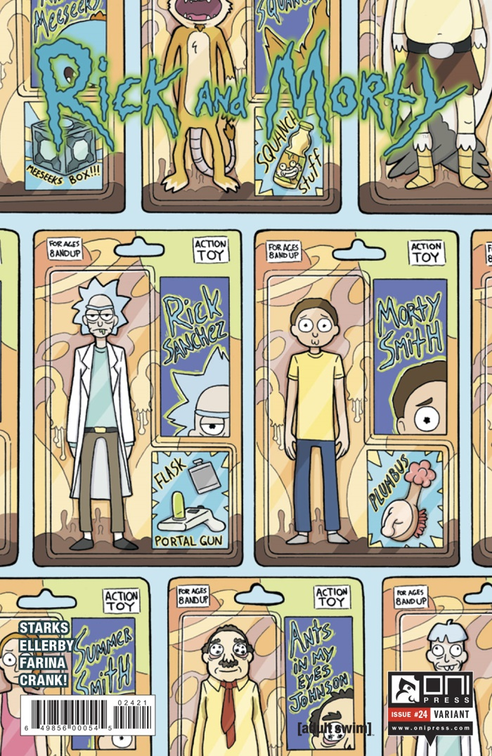 RICKMORTY-24-MARKETING_Preview-2 ComicList Preview: RICK AND MORTY #24