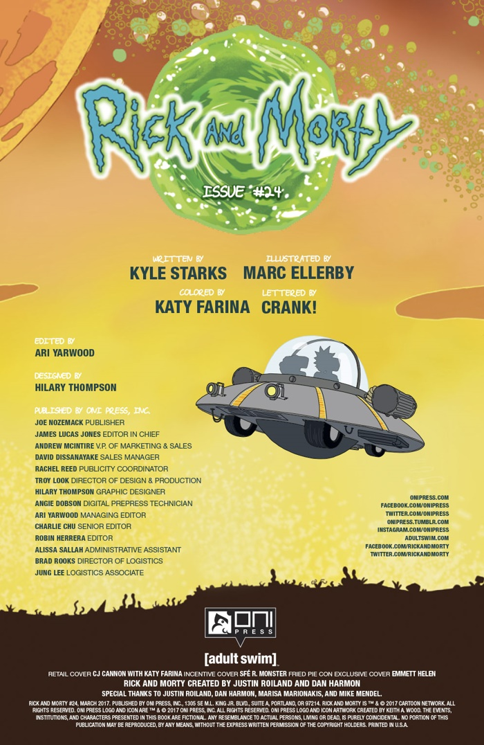 RICKMORTY-24-MARKETING_Preview-3 ComicList Preview: RICK AND MORTY #24