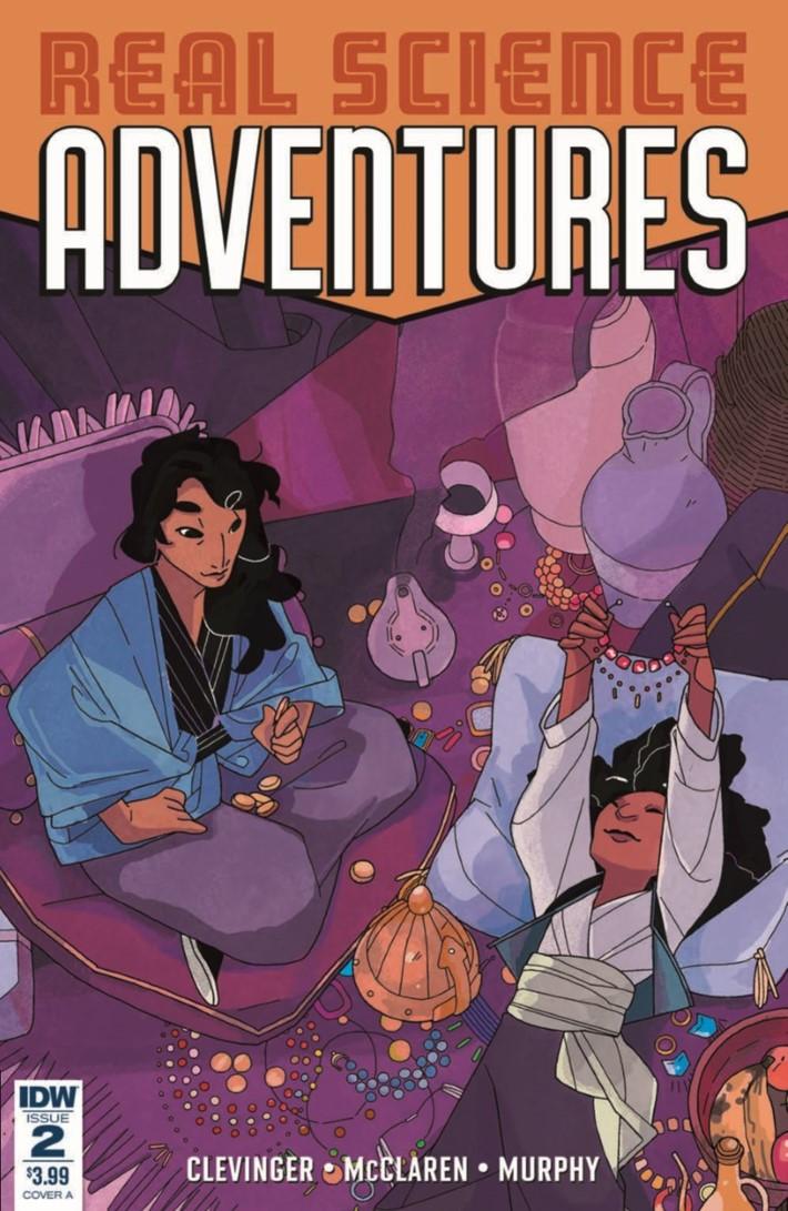Real_Science_Adventure_Nicodemus_02-pr-1 ComicList Previews: REAL SCIENCE ADVENTURES THE NICODEMUS JOB #2