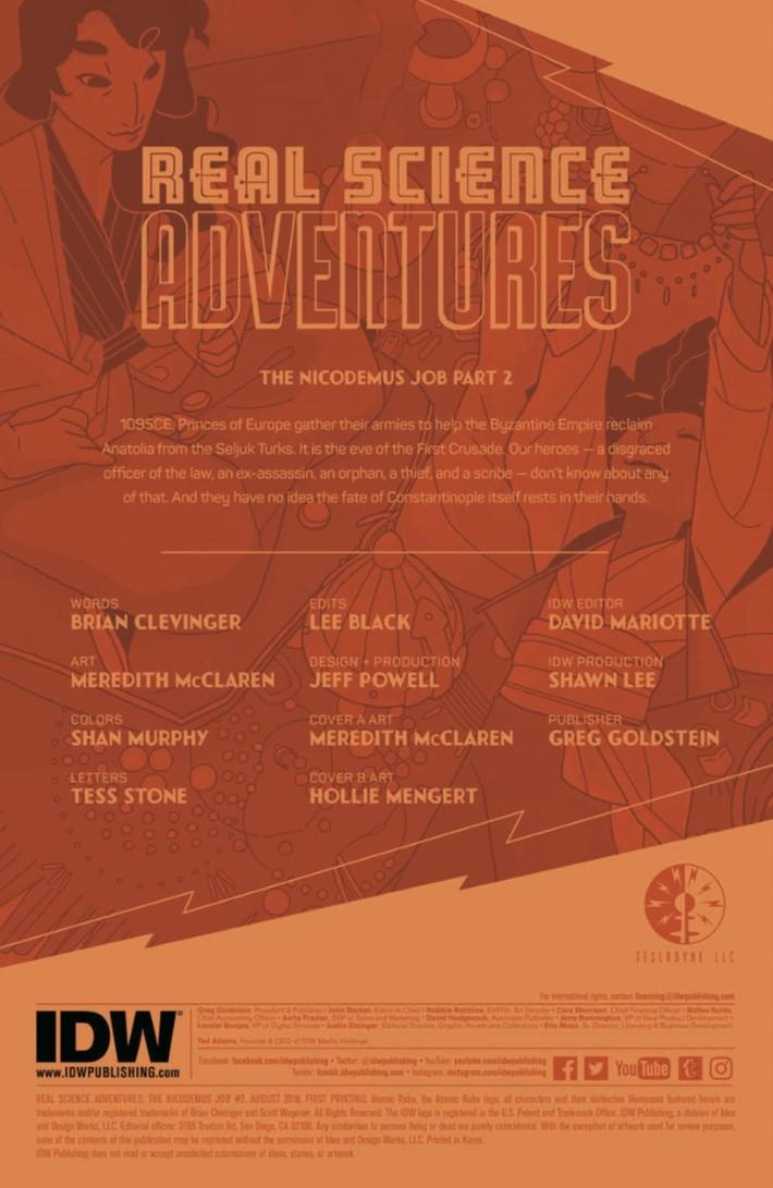 Real_Science_Adventure_Nicodemus_02-pr-2 ComicList Previews: REAL SCIENCE ADVENTURES THE NICODEMUS JOB #2