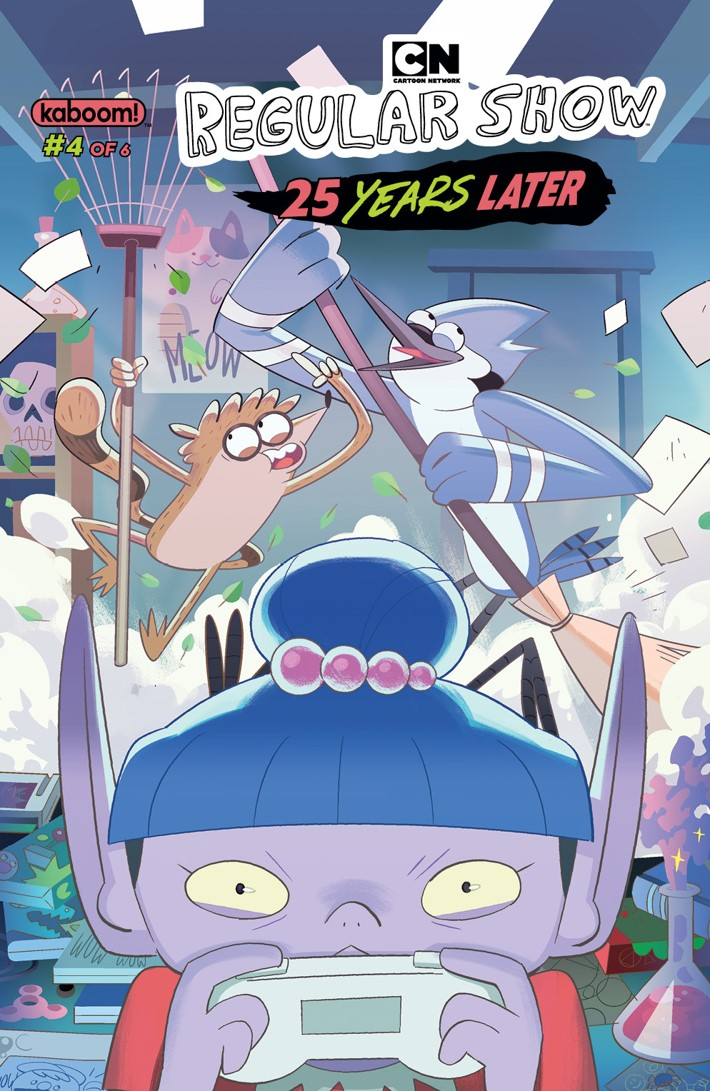 RegularShow_25_Years_Later_004_A_Main ComicList Previews: REGULAR SHOW 25 YEARS LATER #4