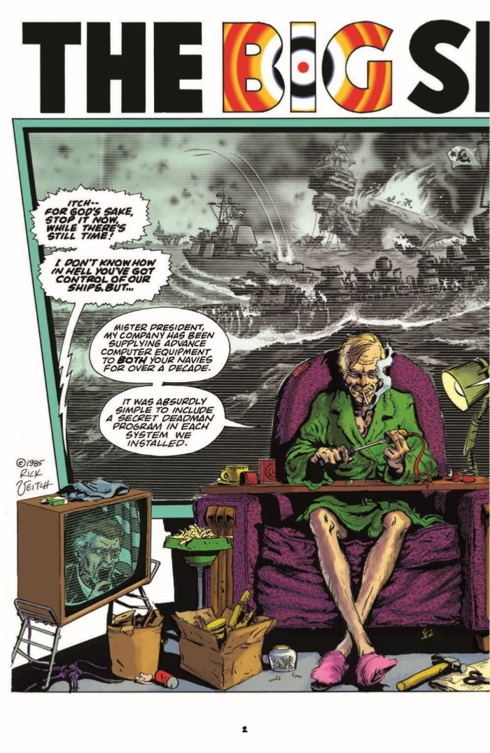 RickVeitch_TheOne_01-pr-4 ComicList Previews: RICK VEITCH'S THE ONE #1