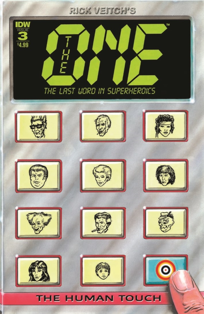 RickVeitch_TheOne_03-pr-1 ComicList Previews: RICK VEITCH'S THE ONE #3