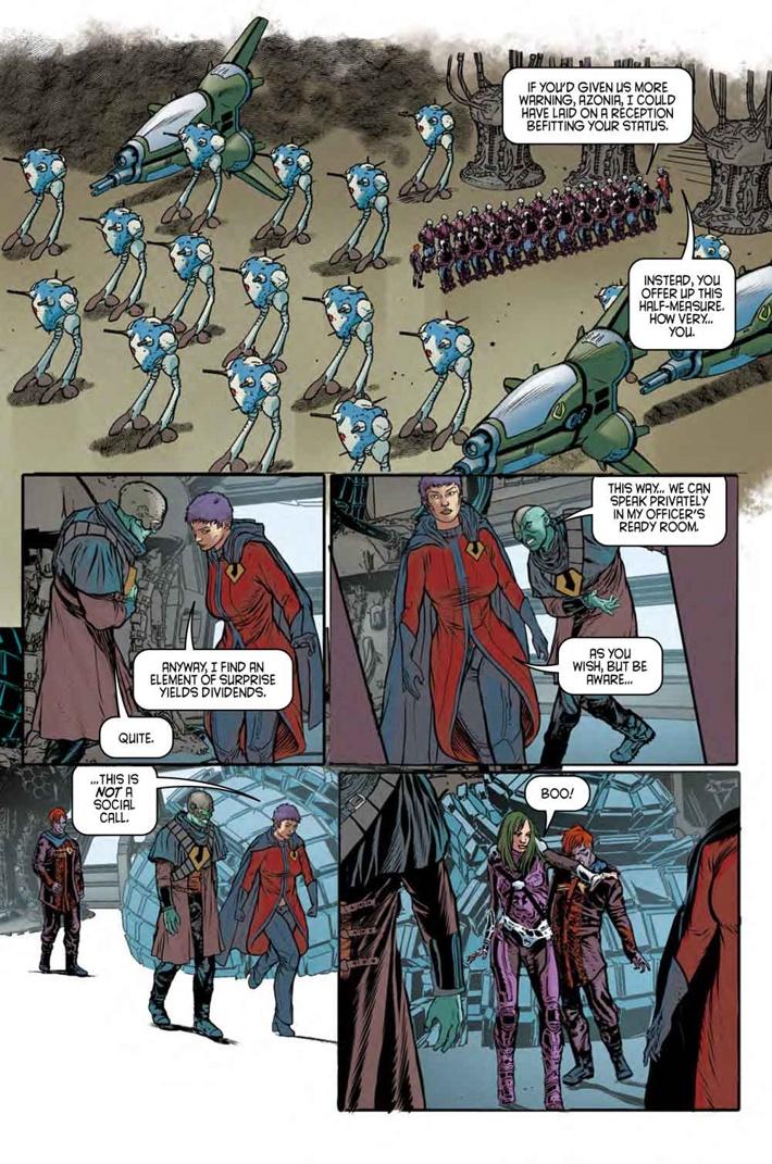 Robotech_9_Pg2 ComicList Previews: ROBOTECH #9