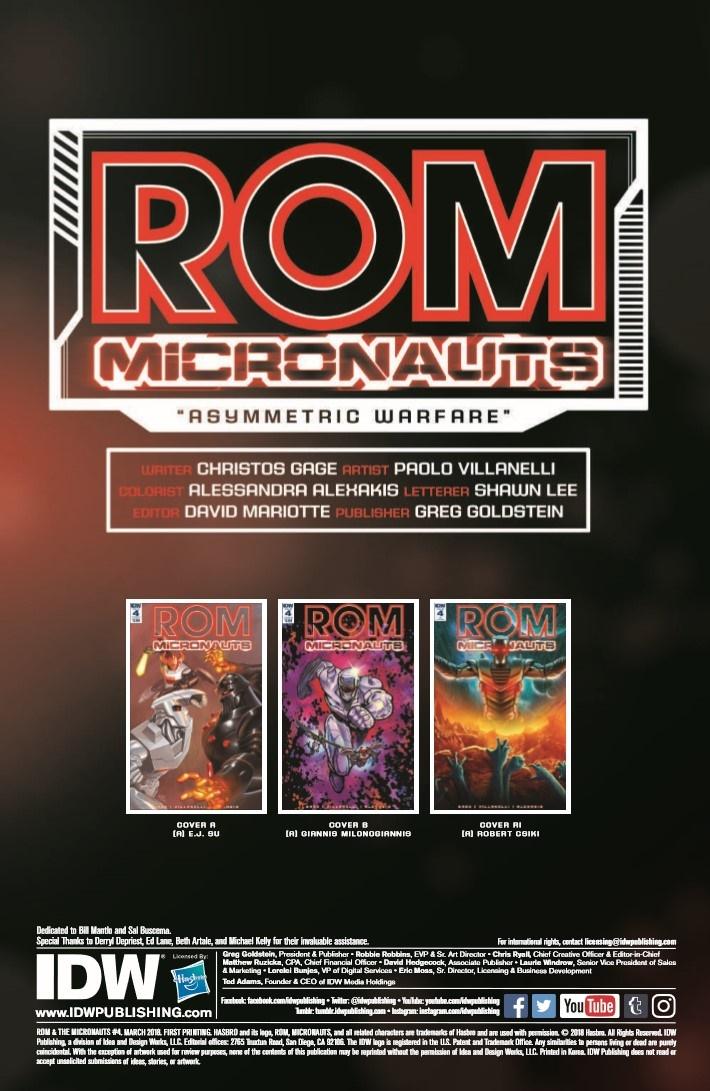 Rom_Micronauts_04-pr-2 ComicList Previews: ROM AND THE MICRONAUTS #4